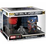 Captain America FUNKO POP Vinylfigur! -  Captain America Red Skull vs. Funko Pop Vinylfigur-multicolor - Offizieller & Lizenzierter Fanartikel - Offizieller & Lizenzierter Fanartikel