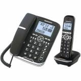 Daewoo Kabelloses Telefon Daewoo DTD5500 DECT LCD LED COMBO