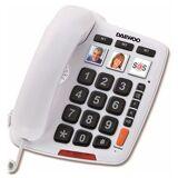 Daewoo Festnetz für ältere Menschen Daewoo DTC-760 LED Weiß