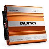 Auna ALP404CH Auto-Endstufe Verstärker 640W RMS 4-Kanal MOSFET 4000W max. bronze