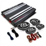 Auna Platin Line 440 4.0 Car Hifi Set Verstärker Box 2400Wmax.