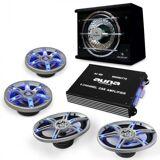 Electronic-Star auna BeatPilot FX-413 Car-Audio-Set 6000W