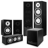Auna Black-Line 5.1 Heimkino-Set Soundsystem schwarz