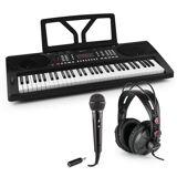 SCHUBERT Etude 300 Keyboard-Set Kopfhörer Mikrofon Adapter
