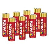 Varta LONGLIFE Max Power Micro (AAA) Alkaline Batterie - 8 Stück