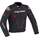 Ixon Zephyr HP Textiljacke Schwarz Rot 4XL
