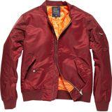 Vintage Industries Welder Jacke Rot M