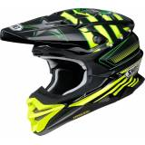 Shoei VFX-WR Grant 3 Motocross Helm Schwarz Gelb XL