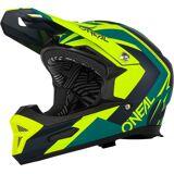 Oneal Fury RL Hybrid Downhill Helm Schwarz Gelb XS