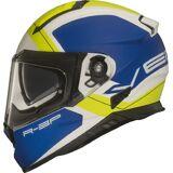 Vemar Zephir Mars Motorradhelm Schwarz Gelb L