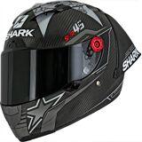 Shark Race-R Pro GP Replica Redding Winter Test Limited Edition Helm Schwarz Grau Weiss XS