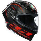 AGV Pista GP RR Performance Carbon Helm Schwarz Rot S M