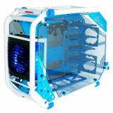 In-Win D-Frame 2.0 Design Big-Tower - intel Edition - weiss/blau