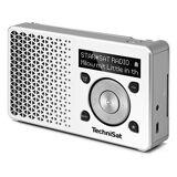 TechniSat DigitRadio 1 - DAB+ Radio - weiss/Silber