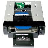 Icy Dock MB971SP-B - Duo 2.5/3.5 Zoll SATA Wechselrahmen