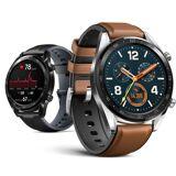 Huawei Watch GT - Smartwatch - Schwarz/Braun