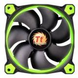 Thermaltake Riing LED Green - Gehäuselüfter 120x120x25mm