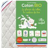 P'TIT ALBATROS Baby-Matratze P'tit Albatros, Schaumstoff und Bio-Baumwolle