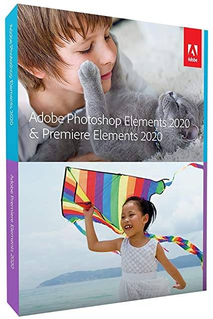 Adobe Photoshop & Premiere Elements 2020 Win/Mac, Box