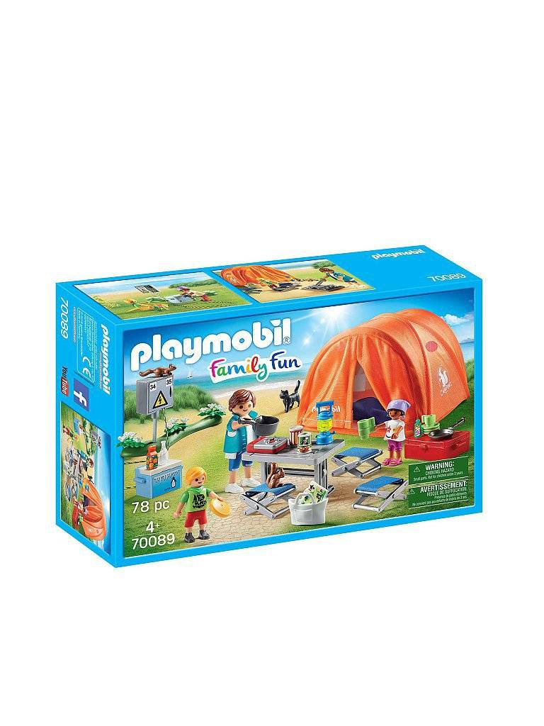 Playmobil Familien Camping 70089