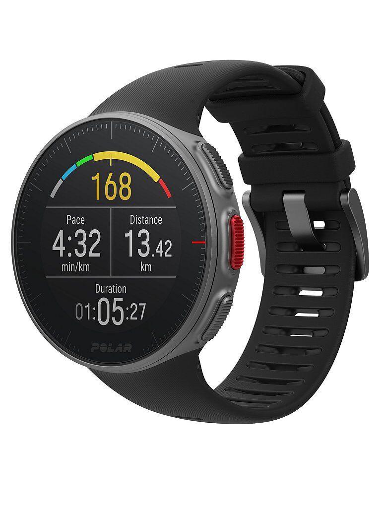 POLAR GPS-Multisport-/Triathlonuhr Vantage V mit H10 Herzfrequenz-Sensor schwarz