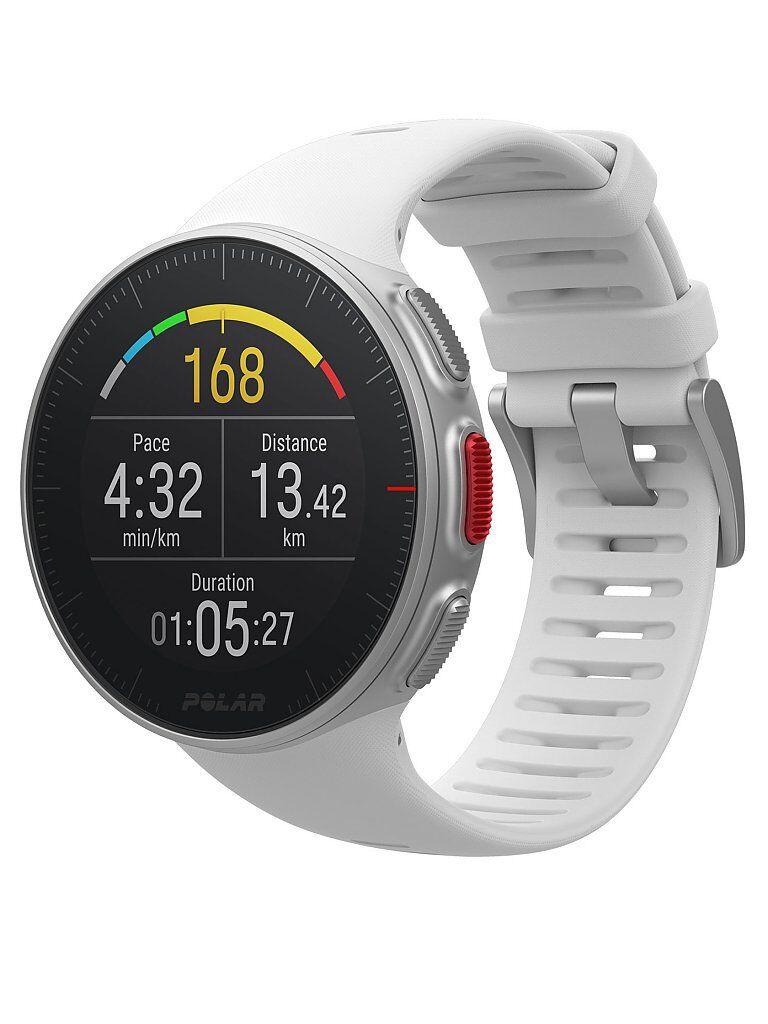 POLAR GPS-Multisport-/Triathlonuhr Vantage V weiß