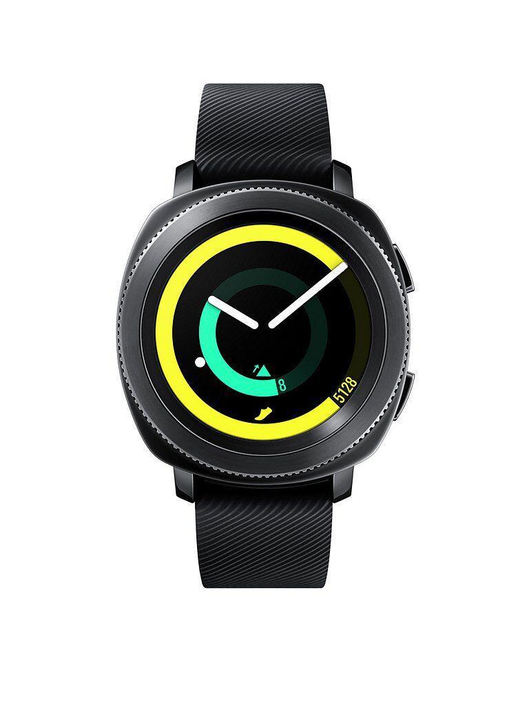 Samsung Aktivitätstracker Gear Sport SM-R600 schwarz