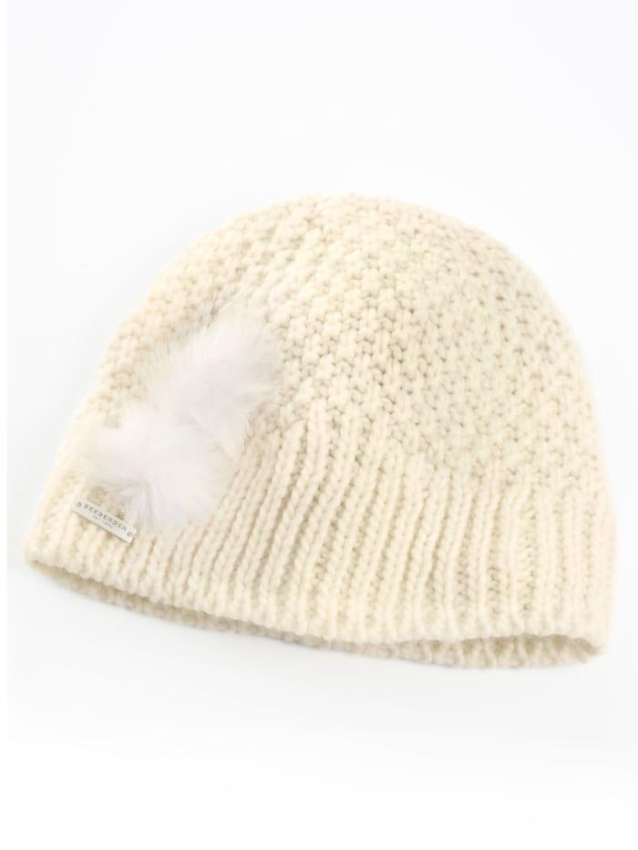 Seeberger Mütze für die kühle Jahreszeit, weiß