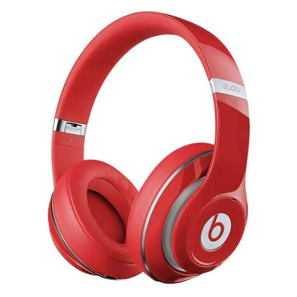 Beats Studio 2 Wireless Bluetooth Over Ear Kopfhörer Freisprechfunktion Rot