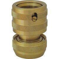 C.K. G7913 Messing Schlauchstück 13mm (1/2 ) Ø, Steckkupplung Wasserstop