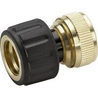 Kärcher 2.645-017.0 Messing Schlauchkupplung 13mm (1/2 ) - 15mm (5/8 ) Wasserstop