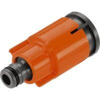 Gardena 05797-20 Kunststoff Schlauch-Verbinder Steckkupplung Wasserstop