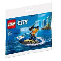lego 30567 - polybag lego city - 30567- polizei jetski