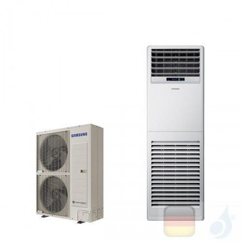 Samsung Gewerbeklimaanlagen Mono Split Fußboden Säule 47600 Btu Drei Phasen 14.0 kW WiFi Optional Gas R-410A 380v