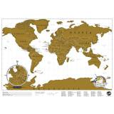 Luckies of London Reiseedition - Rubbel Karte - Scratch Map