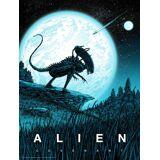 Acme Archives Alien Covenant von Barry Blankenship mit einer im Dunklen leuchtenden Schicht - Zavvi Exklusiv limitierte Auflage