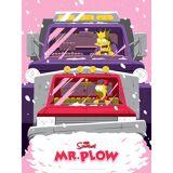 Acme Archives The Simpsons Mr. Plow Variant Siebdruck Print von Florey (45 x 60 cm) Limitiert auf 100 Auflagen - Zavvi UK Exklusiv