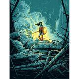 Acme Archives DC Comics Wonder Woman  Warrior  46 x 61 cm Siebdruck Print von Dan Mumford