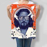 "The Big Lebowski 20th Anniversary ""The Dude Abides"" 46 x 61cm-Siebdruck von Doaly - Zavvi Exklusiv Limited Edition"