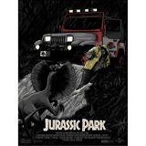 Jurassic Park  No Wonder You're Extinct  Screenprint
