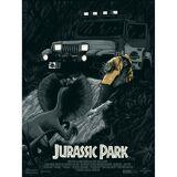 Jurassic Park  No Wonder You're Extinct  Screenprint (Variant)
