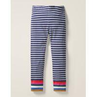 mini schuluniform-navy/naturweiß, regenbogen fröhliche leggings damen boden, 152 (11-12j), ivory