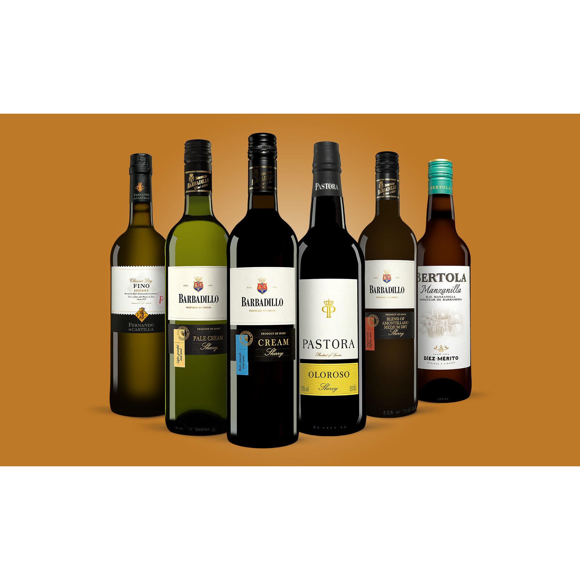 Sherry-Genießer-Paket Weinpaket  aus Spanien