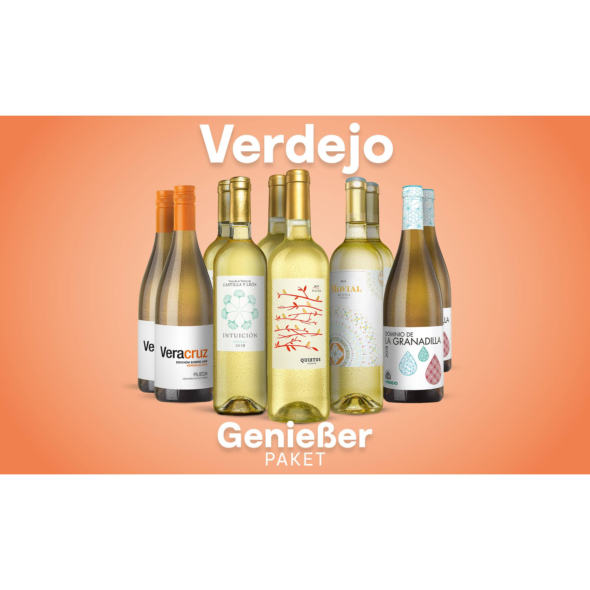 Verdejo-Genießer-Paket Weinpaket  aus Spanien