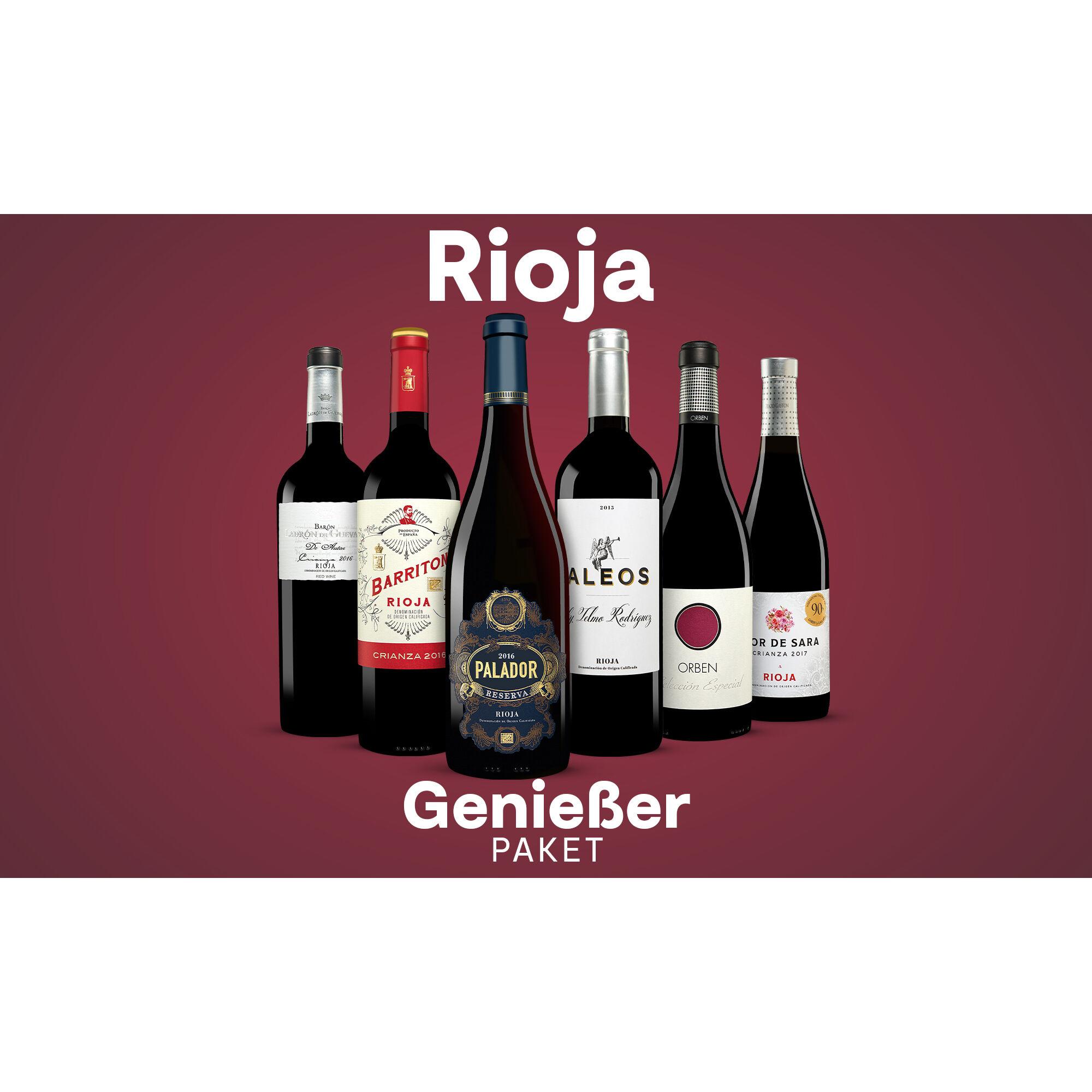 Rioja-Genießer-Paket Weinpaket  aus Spanien
