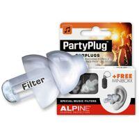 alpine - partyplug gehörschutz, transparent