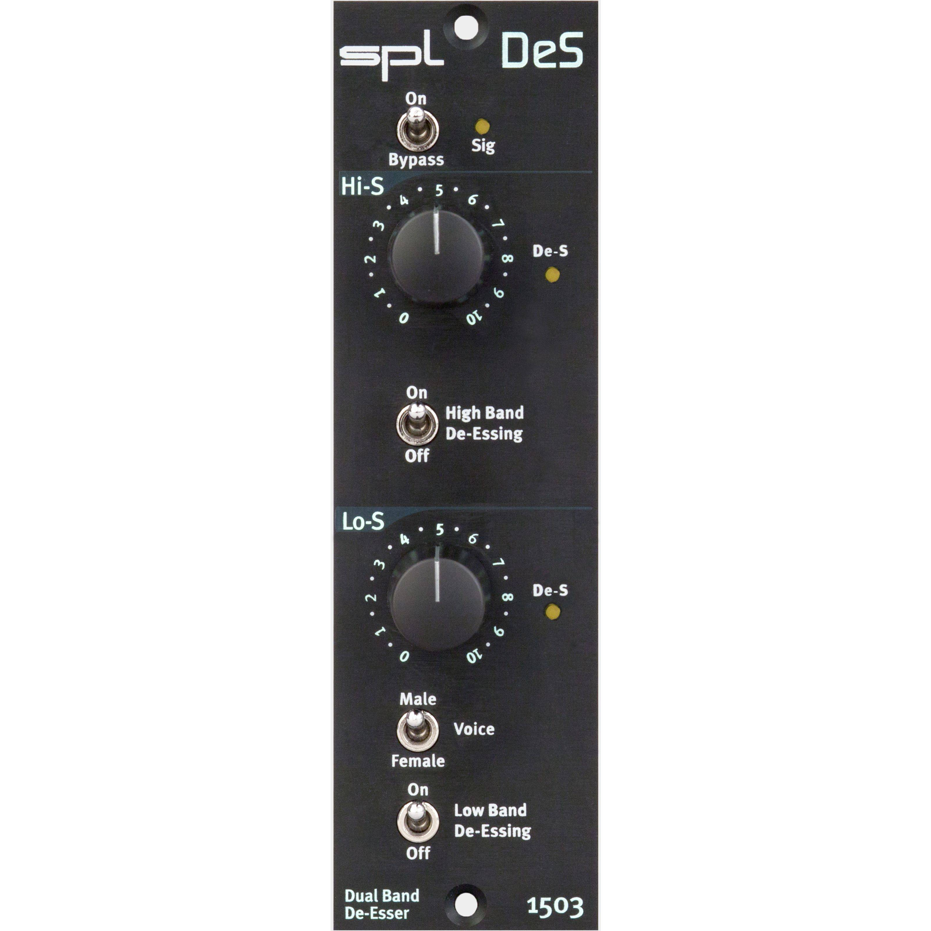 SPL Electronics - DeS Dual-Band De- Esser, 500-er