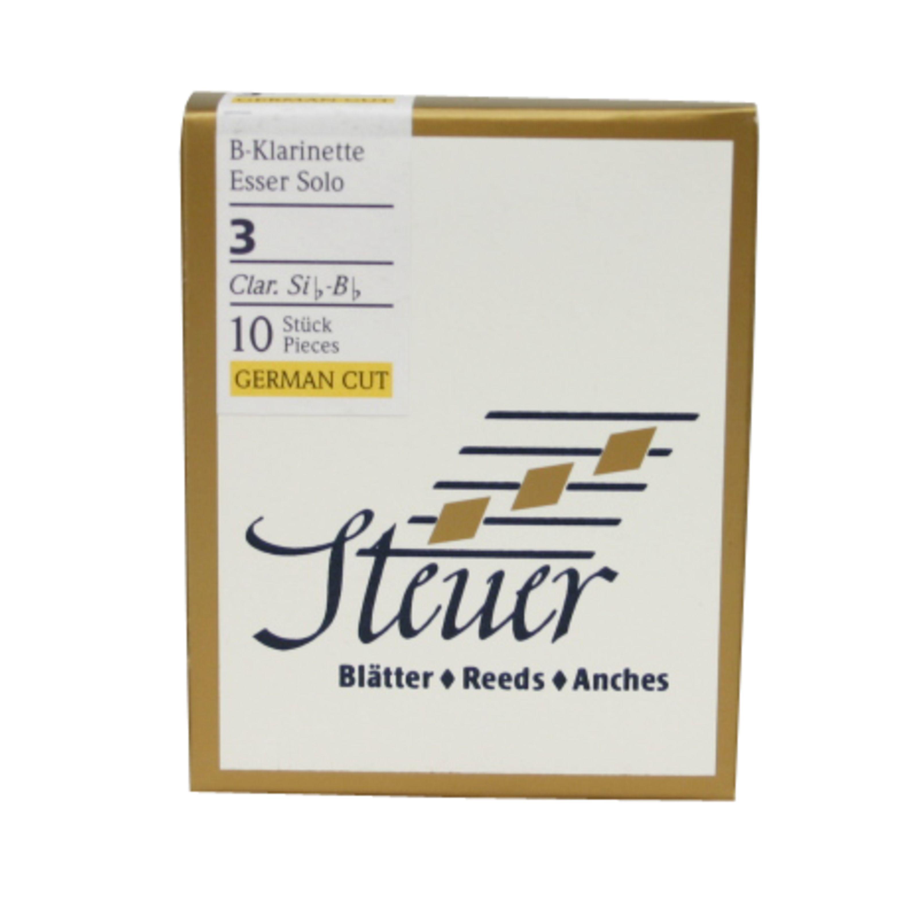 Steuer - Esser Solo Bb-Klarinette 2 White Line 10 Blätter