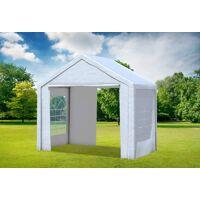 stabilezelte partyzelt pavillon 3x2m classic pro pe wasserdicht weiß