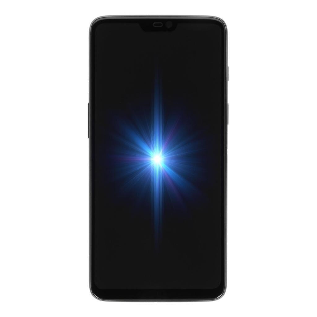 OnePlus 6 256GB mattschwarz refurbished